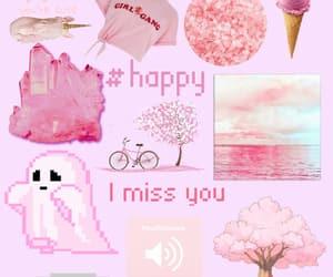 Collage, pink kawaii, and kawaii image