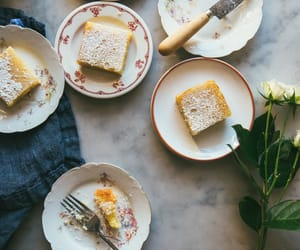 bars, lemon, and lemon curd image