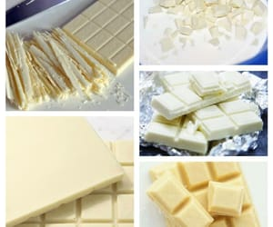 chocolate, eat, and white image