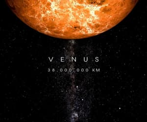 planet, universe, and Venus image