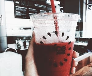 red, theme, and drink image