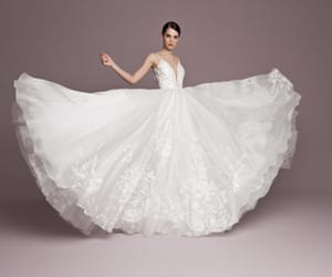 bride, Couture, and designer image