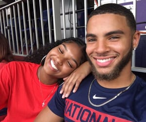 couples, cute couples, and black couples image