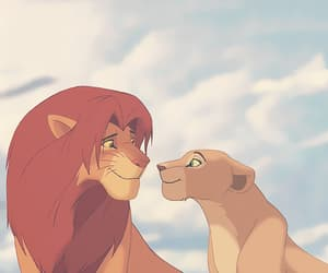 disney, simba, and lion king image