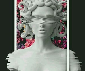 wallpaper, medusa, and aesthetic image