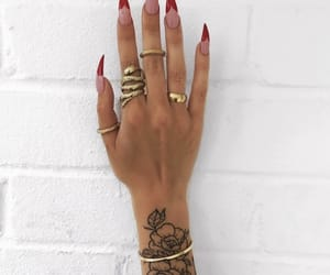 nail art, nail inspo, and nail goals image