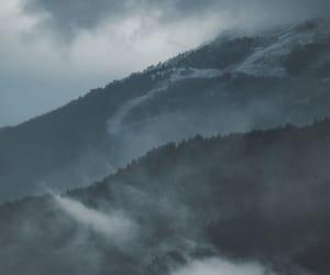beauty, dark, and fog image