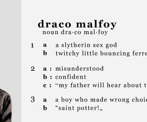 books, definition, and draco malfoy image