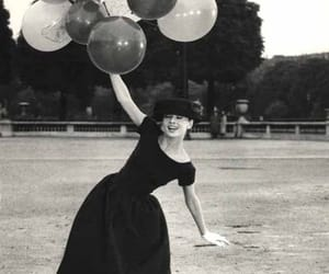 audrey hepburn, balloons, and audrey image