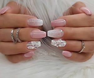 nails, girls, and pink image