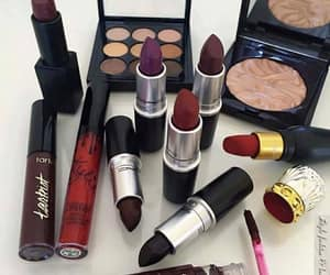 lipstick, mac, and love image