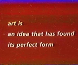 art, quotes, and red image