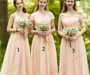 bridesmaid, wedding, and maid of honor image