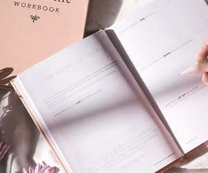 book, notebook, and pastel image