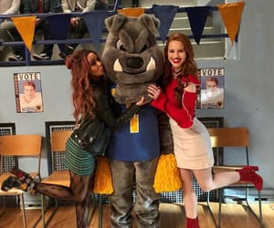 riverdale, vanessa morgan, and cheryl blossom image