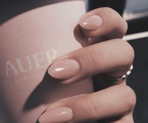 coffee and nail polish image