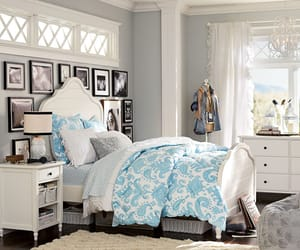 bedroom, chic, and cool image