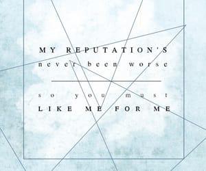 delicate, Lyrics, and Reputation image