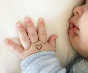 baby, family, and in love image