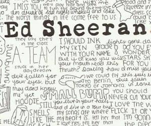 music, ed sheeran, and wallpaper image