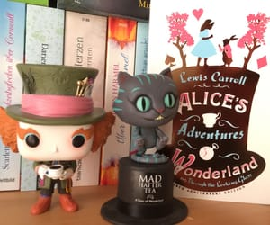alice in wonderland, Cheshire cat, and funko pop image