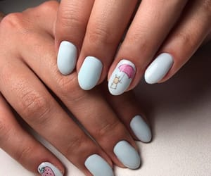 mouse, strawberry, and nails image
