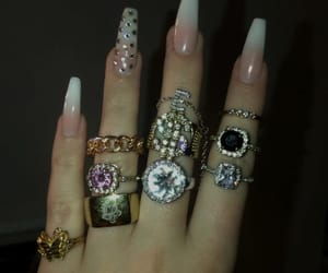 diamonds, fashion, and girls image