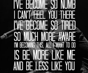 linkin park, NUMB, and quotes image