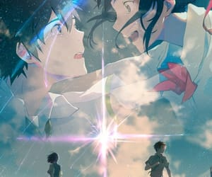 kimi no na wa, anime, and your name image