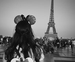 aesthetic, black and white, and disney image