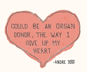 heart, text, and andre 3000 image