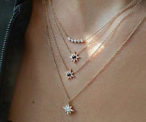 necklace, accessories, and girl image