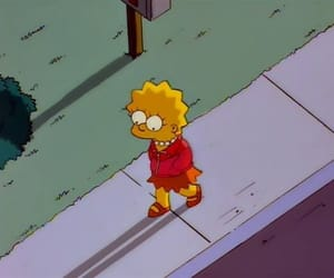 lisa simpson, the simpsons, and young adults image