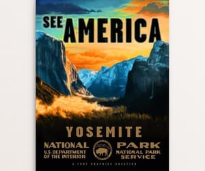 Road Trip, national parks, and yosemite image