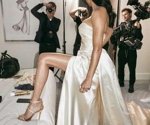 Adriana Lima, dress, and model image