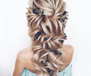 braided, hair colors, and braided hair image