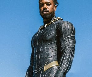 film, killmonger, and black panther image