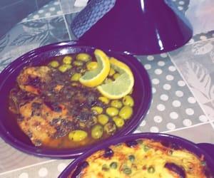 citron, olives, and tajine image