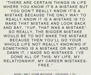 mistakes, himym, and how i met your mother image