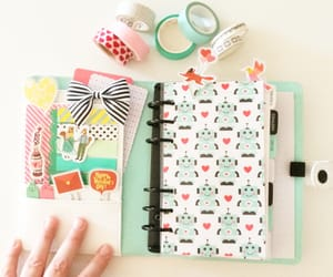 art, planner, and scrapbooking image