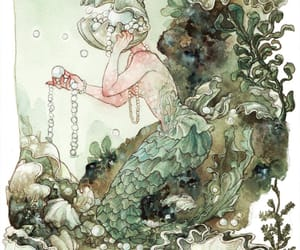 fairy tale, mermaid, and fantasy image