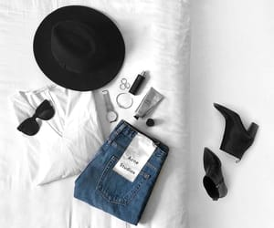 accessories, bed, and fashion image