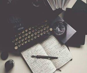 type writer, typewriter, and write image