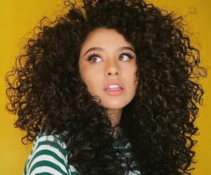 Afro, beauty, and curls image