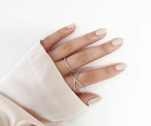 nails, hand, and jewelry image