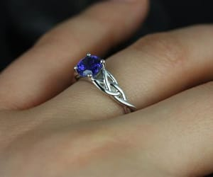 celtic, jewellery, and wedding ring image