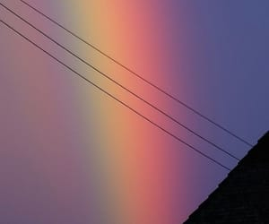 wallpaper, rainbow, and aesthetic image