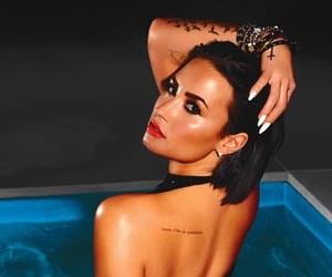demi lovato, the love of my life, and cool for the summer image