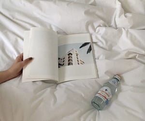 aesthetic, book, and white image