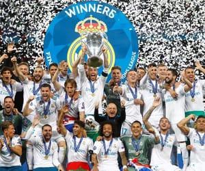 football, real madrid, and champions image